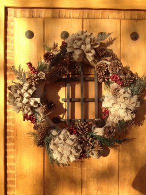 Hand crafted Christmas wreath