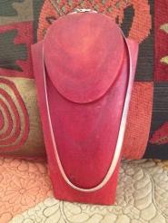18-inch liquid silver necklace
