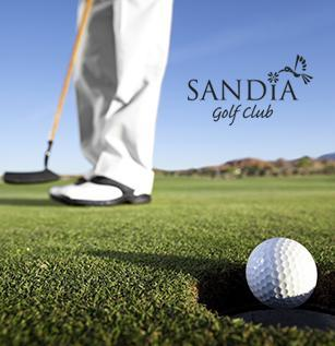 Two rounds of golf at Sandia Golf Club
